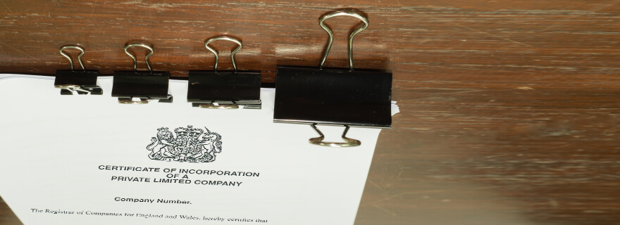Getting a replacement certificate of incorporation for a limited company