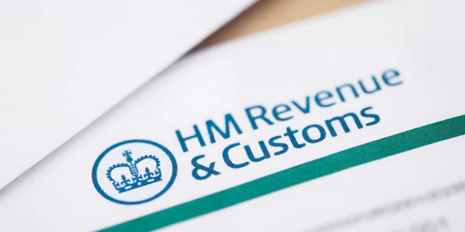 Image of a headed letter from HMRC, illustrating the type of mail delivered to a service address.