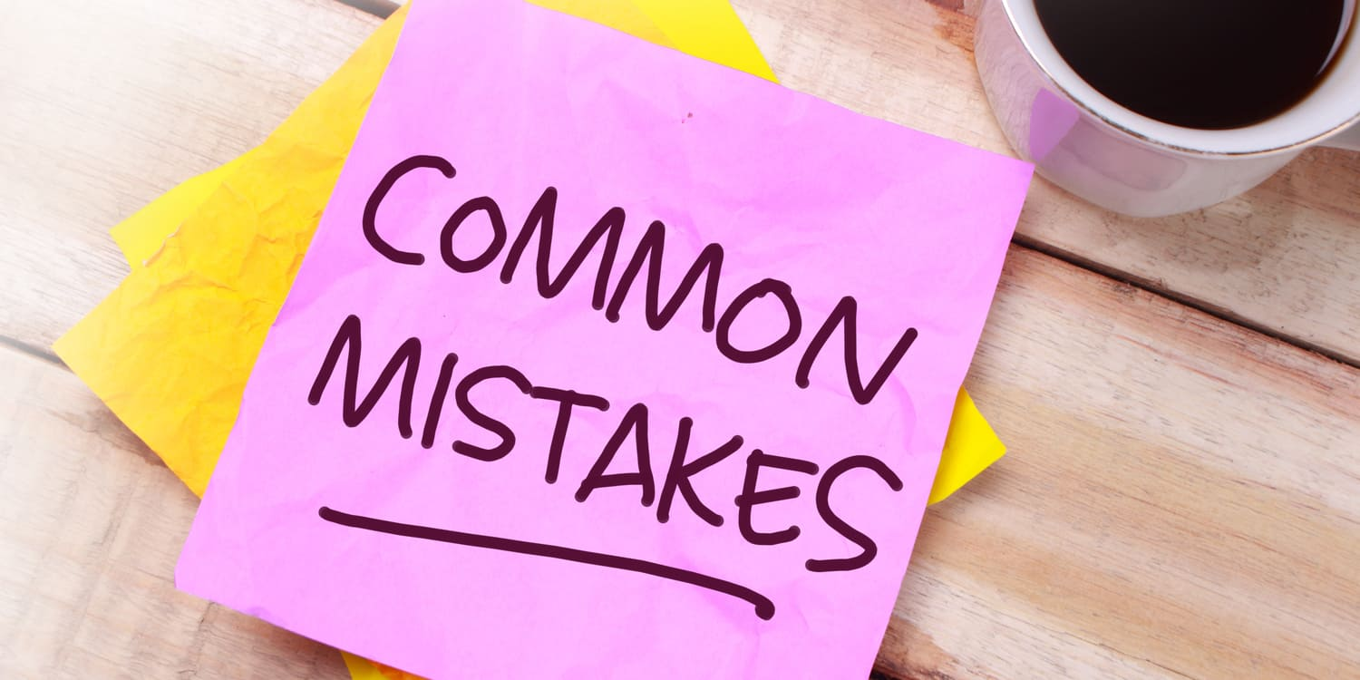 How to fix common mistakes made on incorporation